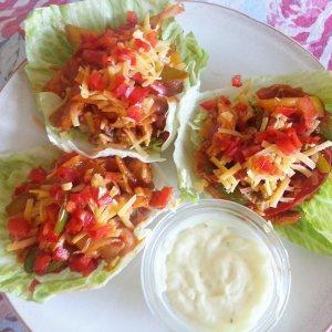 fajita lettuce wraps